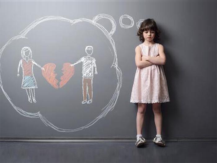 Как дети переживают развод?